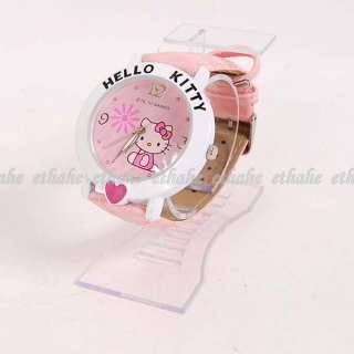 Hello Kitty Heart Wrist Watch Wristwatch Band F1H9I