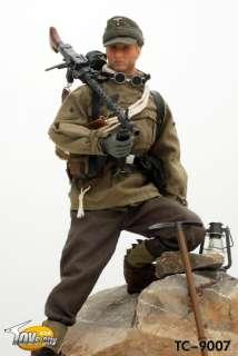 TOYS CITY WWII German Mountain Troop MG34 Gunner 1/6