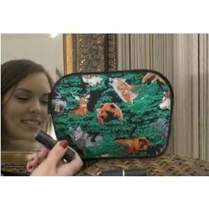 Wolf Bear Deer Outdoors Theme Makeup Clutch by Broad Bay