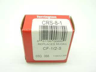 Torrington CRS 8 1 Roller Bearing CF 1/2 S NEW