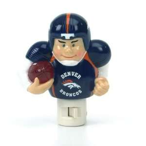 5 NFL Denver Broncos Football Player Night Light Home