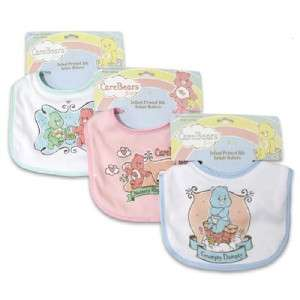 Care Bears Baby Bib, Funshine, Love A Lot, Bed Time, Baby Shower