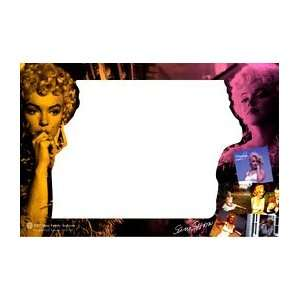 Marilyn Monroe Glass Picture Frame Colorful Montage