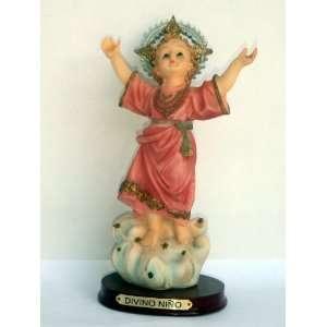 Statue Divino Nino   8 Inches Baby Jesus   Colombia Nino