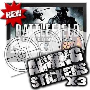 BATTLEFIELD BAD COMPANY 2 AIMING PERK XBOX 360 PS3 X 3