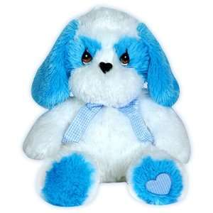 Precious Moments Blue & White Plush Puppy Lovie Toys & Games