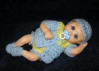OOAK Polymer Clay 5.5 Baby Boy by **TERRIS TREASURES**