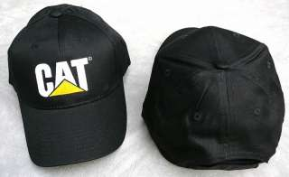 Ball Cap black hat baseball CAT CATERPILLAR ballcap NEW
