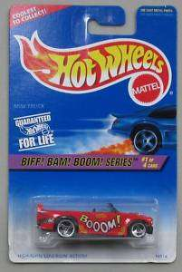 1996 Hot Wheels Biff Bam Boom Series Mini Truck #1/4