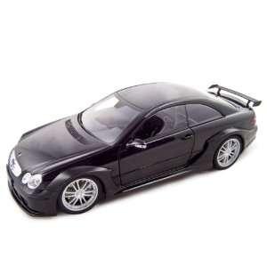 Mercedes Benz CLK DTM AMG Coupe 1/18 Black Toys & Games