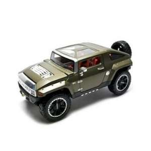 Hummer HX Concept Diecast Car Green 118 Toys & Games