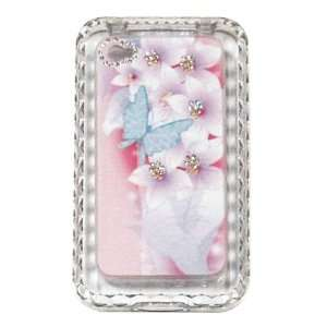 Fashion iPhone 4 Case Cover Girls crystal iPhone Case