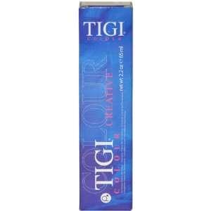 TIGI Colour Creative Creme Gel Colour, No. 8/34 Light Golden Coppery