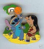 Disney LILO & STITCH Basketball LE1000 Pin