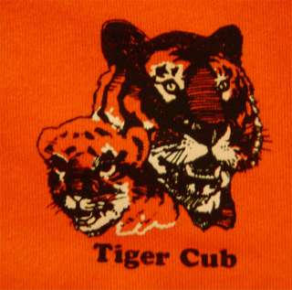 Adult Leader Tiger Cub Sweatshirt Boy Scout Shirt NWT Orange USA