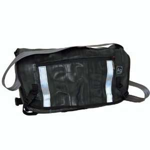 Recycled Bicycle Inner Tube Pike Messenger Bag  Sports