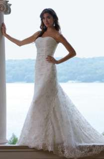 white lace beach Wedding Dress Bridal Gown 4 6 8 10  28
