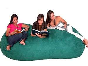 Bean Bag Chair Love Seat By Cozy Sac Micro Suede 8 Hunter Huge Large