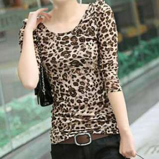 Beautiful Girl Leopard Print Stripes Polo T shirt Primer Shirt