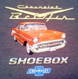 Chevrolet BelAir 55 56 57 Vintage Muscle Car T Shirt