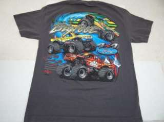 BIGFOOT 4 x 4 t shirt FORD MONSTER TRUCK, SNAKE BITE L