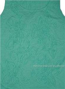 New JONES NEW YORK Sport Womens Sleeveless Shirt Applique LOT Tank Top