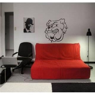 Vinyl Wall Art Decal Sticker Gangsta Pitbull Dogs Duo