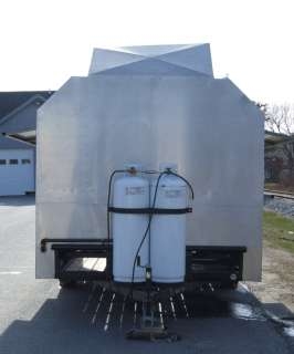 Out Concession Catering Mobile Food Trailer Cart Stainless 16