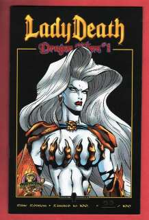 LADY DEATH Dragon Wars #1 Elite Premium Variant /100