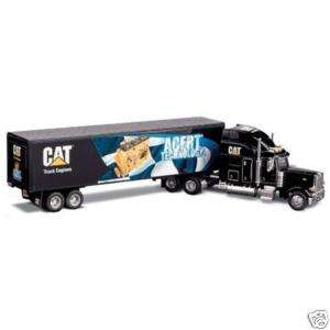NEW IN BOX CAT DIE CAST PETERBILT MURAL TRUCK   NORSCOT