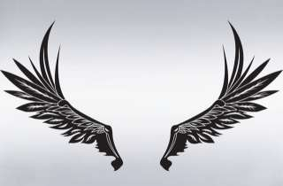 Vinyl Wall Decal Sticker ANGEL WINGS design Big Size
