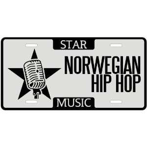 New  I Am A Norwegian Hip Hop Star   License Plate