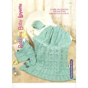 Bobbles Baby Layette   One Knitting Pattern for One Baby