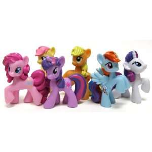My Little Pony Friendship is Magic Set of the Mane Six 2