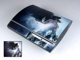 Tekken 6 DECAL Skin Sticker for PS3 PLAYSTATION 3 Y011