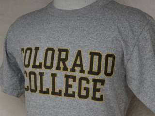 vtg COLORADO COLLEGE t shirt RAYON M