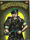 GREEN ANGELS MAGAZINE #1 RARE CHICANO VETERAN MILITARY 1984 LOW RIDER