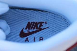 NIKE AIR MAX 90 SZ 11.5 MEDIUM GREY WHITE BLACK TEAM RED 325018   047