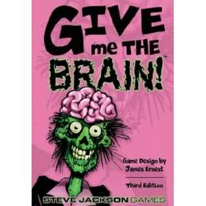 Give me the brain the card game of zombie fast food toys amp games