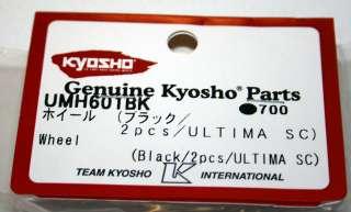 Kyosho Ultima SC Black Wheel Set ~KYOUMH601BK