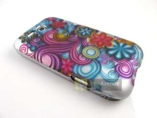 FLOWER SWIRLS Phone Cover Hard Shell Case HTC Freestyle