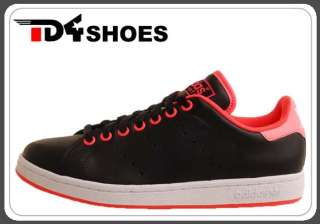 Adidas Stan Smith 2 Black Pink Retro Tennis 2011 Style Mens Casual
