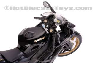 Maisto Kawasaki Ninja ZX 10R Black 112 Scale Bike