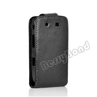 New Leather Flip Case Pouch Cover for Blackberry Torch 9800