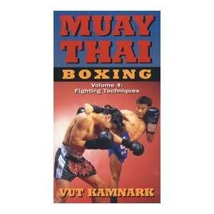 Muay Thai Boxing DVD 4 by Vut Kamnark