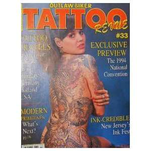 Outlaw Biker Tattoo Revue Magazine Primitives (January, 1994, Volume 7