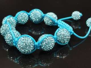 Mens Womens Swarovski Crystal Bracelet 5 Different Colors Available