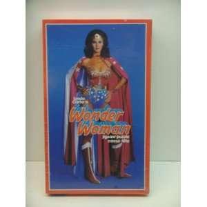 Vintage 1978 Lynda Carter is Wonder Woman Jigsaw Puzzle Casse Tete 200