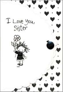 You Sister Birthday Greeting Card Blue Mountain 087400093610