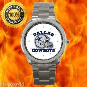 New Dallas Cowboys NFC NFL Football Sport Wrist Watch 2